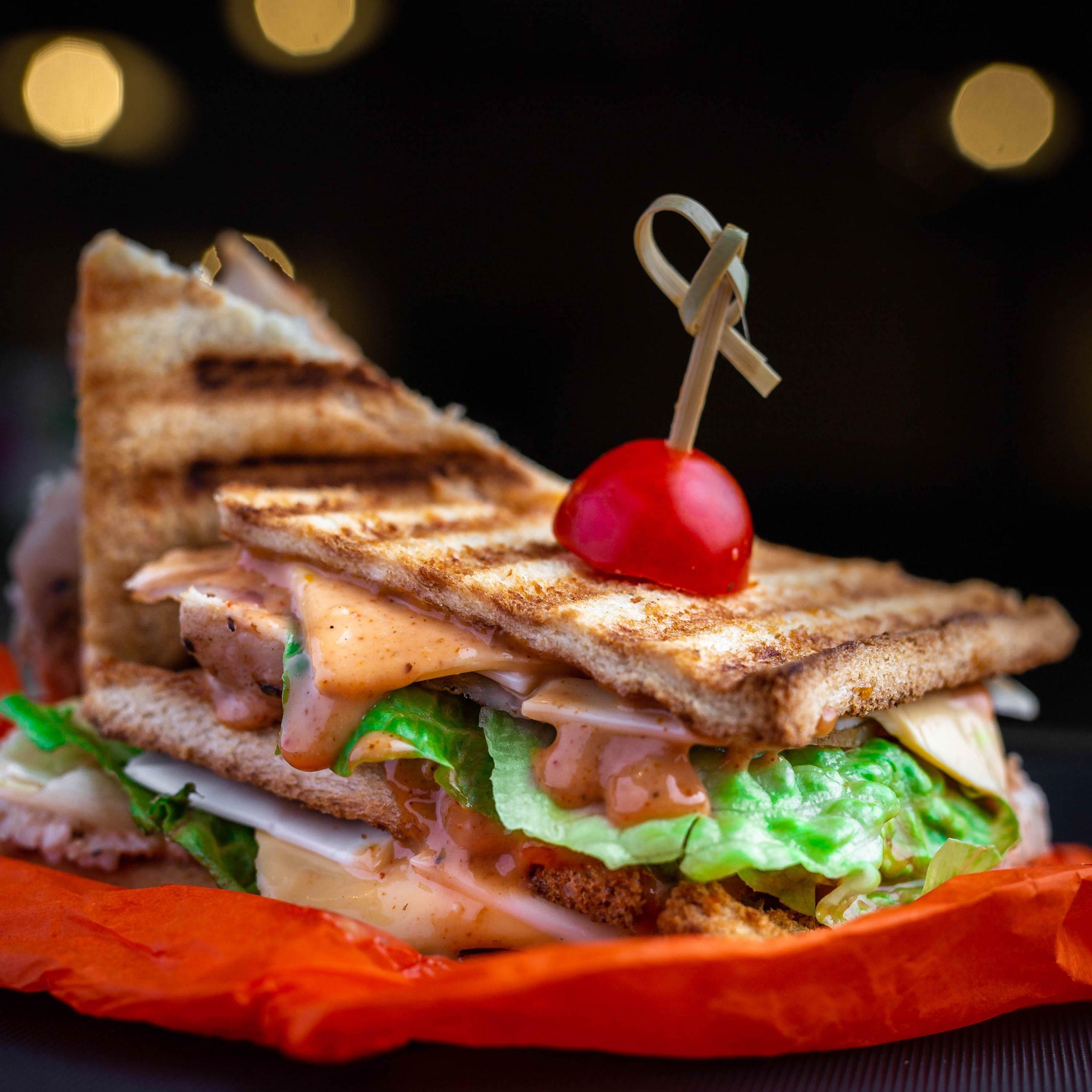 Oeuvre sandwich